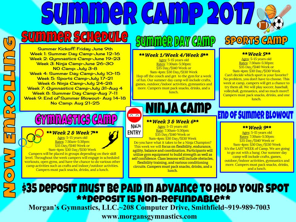 summer camps smithfield nc
